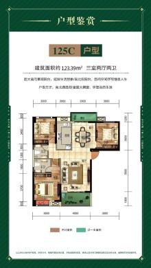 枣阳中鑫公园世家户型图