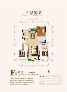 中国汉城户型图